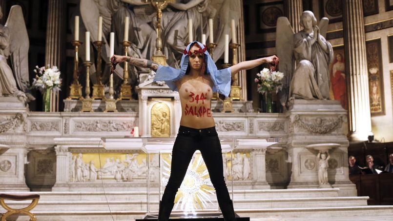 Les actions des Femen devant la justice