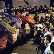 La police de Hongkong est passée à l'offensive