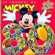 À 80 ans, Le Journal de Mickey reste dans le trio de tête de la presse enfant