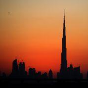 Dubaï du haut du 148e étage de la tour Burj Khalifa