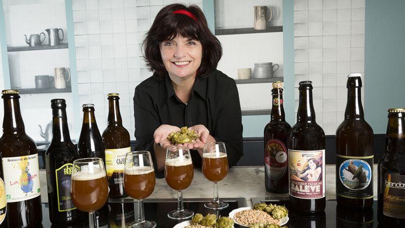 «Le nombre de brasseries artisanales a plus que doublé en 10 ans!» explique Elisabeth Pierre.