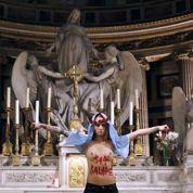 Exhibition à la Madeleine: l'ex-Femen ne renie rien de son acte