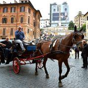 Les «taxi-carrosses» de Rome amenés à disparaître