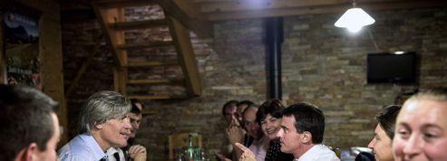 L'escapade médiatique de Valls et Le Foll en montagne