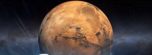 Une comète a frôlé Mars dimanche soir