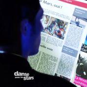 Danse avec les stars : faute d'orthographe et faux départ pour Brian Joubert