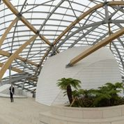 La Fondation Vuitton prend son envol