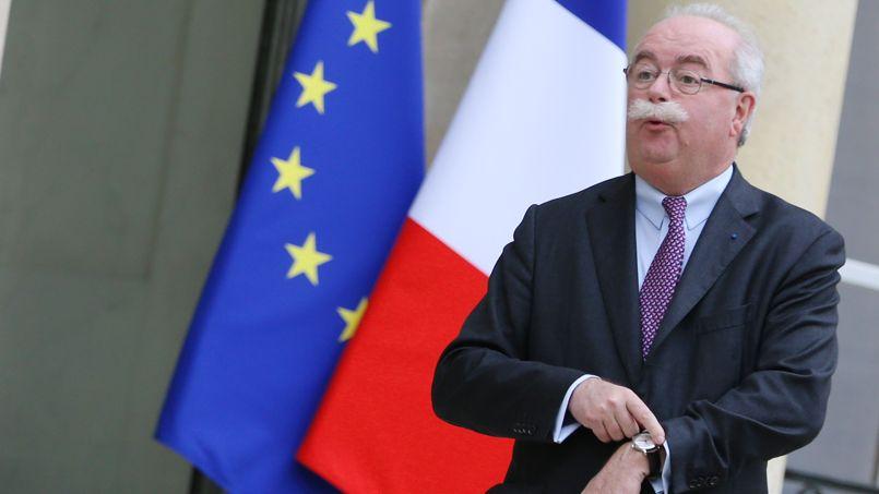 Christophe de Margerie à l'Élysée le 21 janvier.