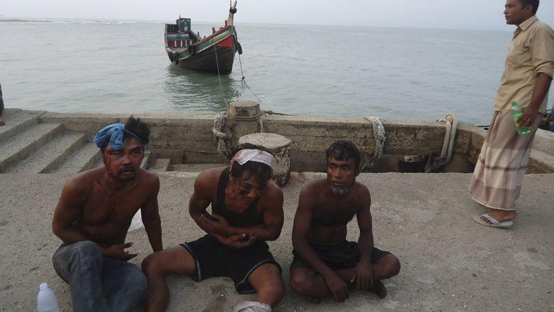 Une grande majorité des victimes étaient des Rohingyas musulmans qui vivaient dans un camp de réfugiés au Bangladesh.