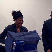 Sur CNN, un homme demande à Obama de «ne pas toucher sa petite copine»