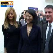 Quand Manuel Valls et Fleur Pellerin posent avec ... Zahia