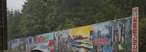 Sur la route, en Corée du Nord