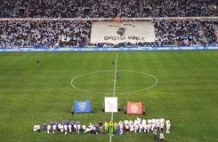 Bastia brave l'interdiction de la LFP et affiche ses drapeaux