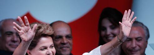 Réélue présidente du Brésil, Dilma Rousseff prêche l'union du pays