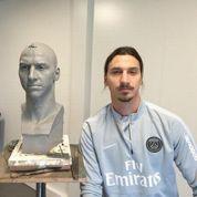 Musée Grévin : Zlatan Ibrahimovic dévoile la première photo de sa statue