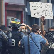 Les grenades offensives, dernier recours contre des manifestants organisés