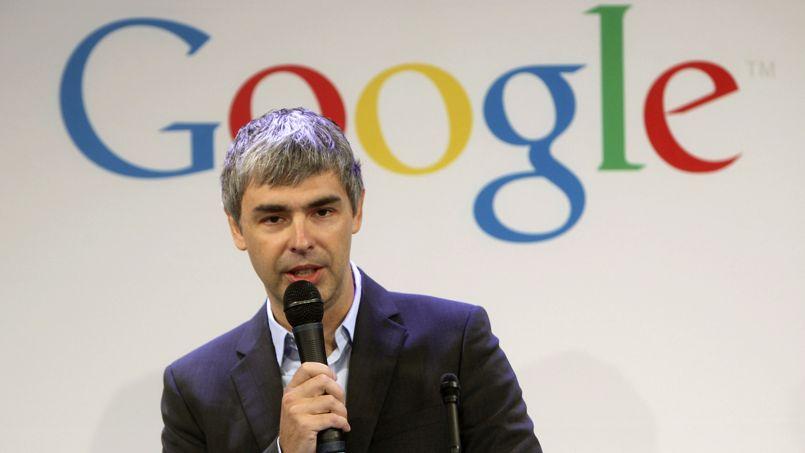 Larry Page, fondateur de Google.