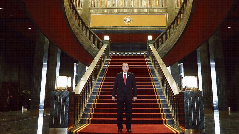 Turquie: Le nouveau palais présidentiel d'Erdogan «le grand»