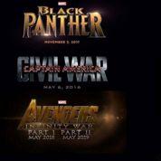 Marvel : Avengers ,Les Gardiens et Black Panther au programme