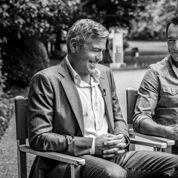 Avec Dujardin et Clooney dans les coulisses de la pub Nespresso