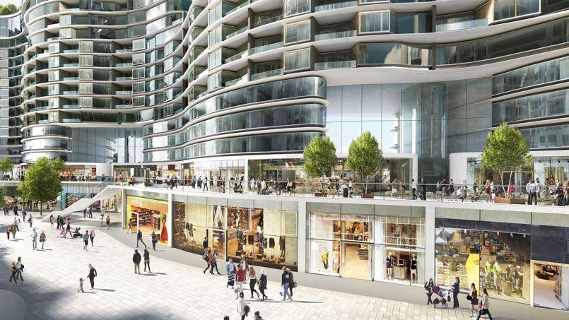 Londres le plus grand projet d am nagement urbain au monde for Architecture moderne londres