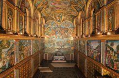 la chapelle sixtine change d 39 air et de lumiere