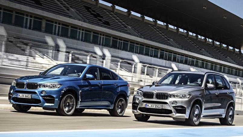 BMW X5 et X6 M, va y avoir du sport!