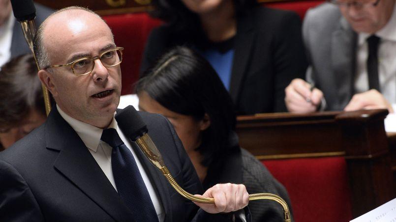 Le ministre de l'Intérieur, Bernard Cazeneuve, le 29 octobre à l'Assemblée nationale.