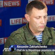 Les séparatistes du Donbass élisent leurs chefs