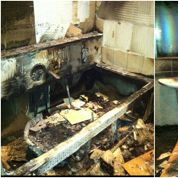 Maison de Balotelli détruite, les photos dévoilées