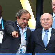 Sepp Blatter: « Platini est plus à l'aise dans un stade que dans une réunion »