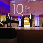 Valls célèbre l'entreprise devant un parterre de grands patrons