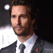 Matthew McConaughey continue sa métamorphose