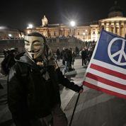 Les «Anonymous» se mobilisent à travers le monde