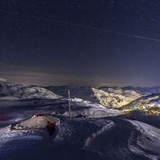 Ski: premières glisses en fête