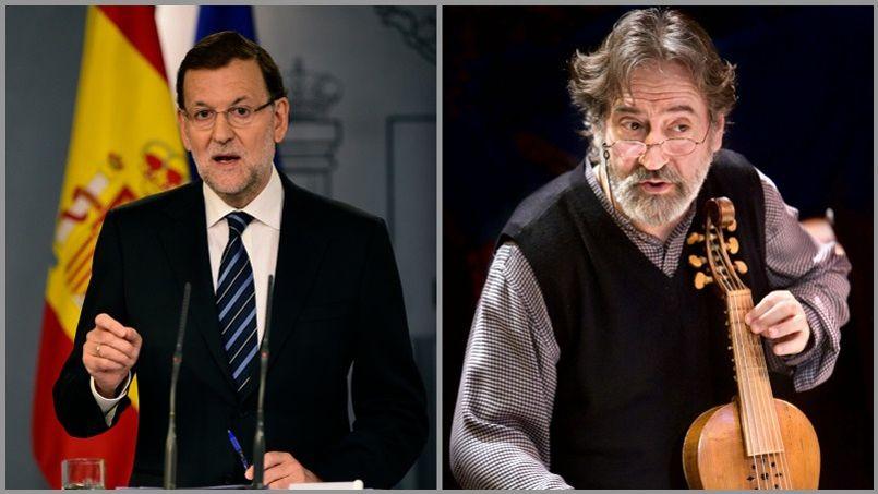 Jordi Savall, Colita... L'art dit «Non» au gouvernement espagnol