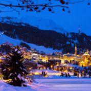 Saint-Moritz reine des neiges