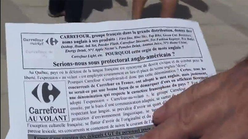 Quand la CGT défend la langue française