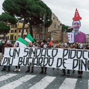 Rome sous tensions, son maire désavoué