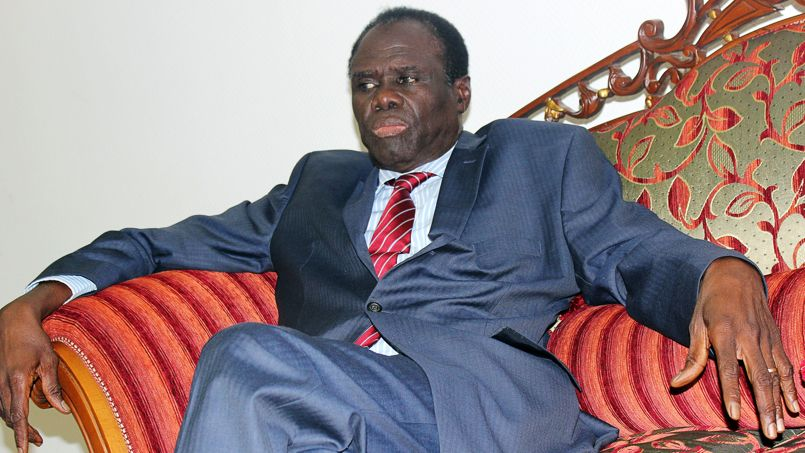 Michel Kafando lundi 17 novembre 2014 à Ouagadougou.