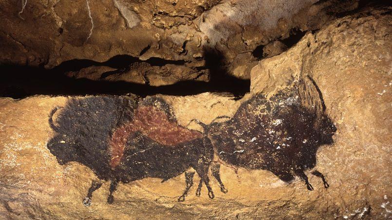 Une des peintures de la grotte de Font-de-Gaume.