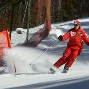 «En fauteuil roulant», Schumacher «ne peut pas parler»