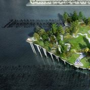 New York : un nouveau parc futuriste à deux pas de Manhattan