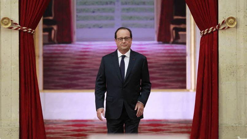 François Hollande lors de sa dernière conférence de presse, à l'Élysée en septembre.