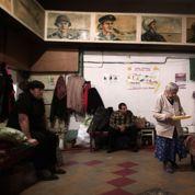 Dans les abris de Donetsk, le premier hiver de guerre a commencé