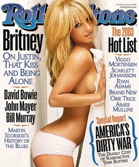 Britney Spears, Rolling Stone, 2003