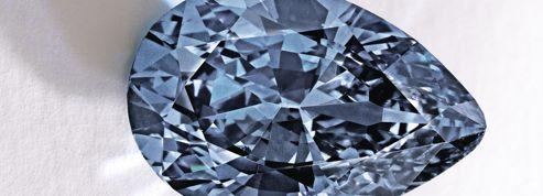 Zoe, le diamant bleu qui bat le record du monde
