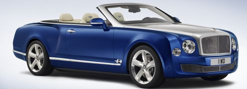 Bentley Grand Convertible, le retour du cabriolet de grand luxe
