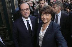 Face à la crise, Aubry est comme «dans un match de double» avec Hollande
