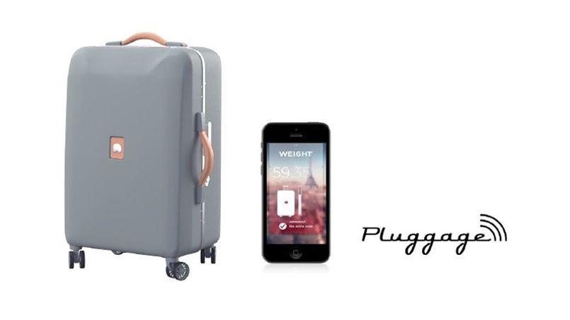 La valise qui prévient lorsqu'elle n'est pas en soute